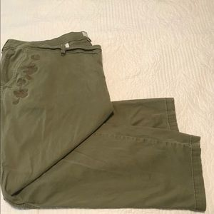 24W A New Day olive pants
